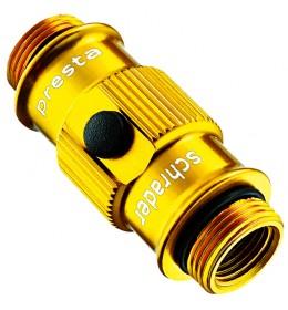 LEZYNE ABS FLIP CHUCK - STD GOLD/HI GLOSS