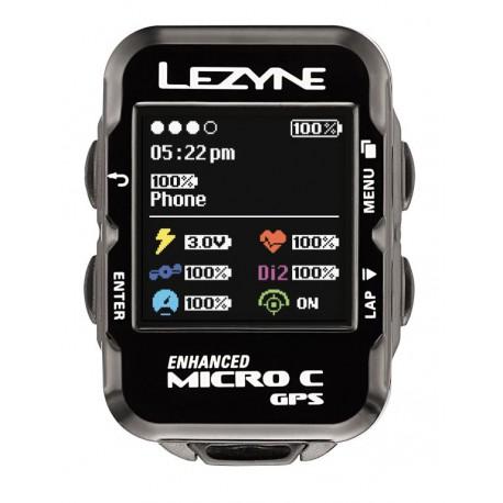 LEZYNE MICRO COLOR GPS BLACK
