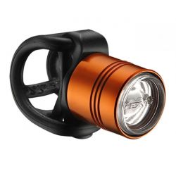 LEZYNE LED FEMTO DRIVE FRONT ORANGE/HI GLOSS